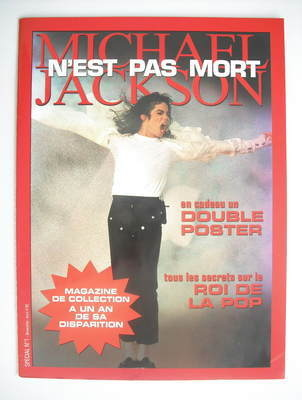 Special No.1 magazine - Michael Jackson cover (2010)