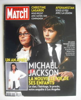 Paris Match magazine - 17-23 June 2010 - Prince Michael and Paris cover