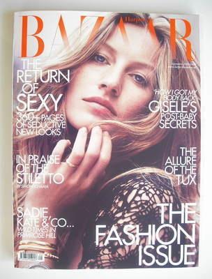 <!--2010-09-->Harper's Bazaar magazine - September 2010 - Gisele Bundchen c