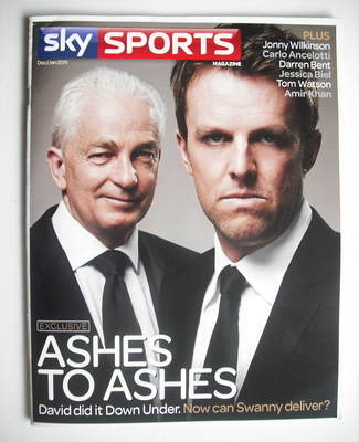Sky Sports magazine - December/January 2011 - David Gower and Graeme Swann