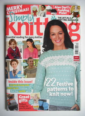 Simply Knitting magazine (Issue 74 - December 2010)