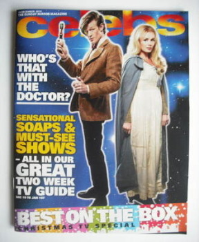 Celebs magazine - Matt Smith and Katherine Jenkins cover (19 December 2010)