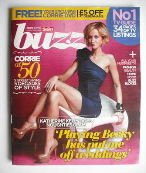 Buzz magazine - Katherine Kelly cover (27 November 2010)