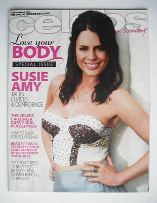 <!--2010-09-19-->Celebs magazine - Susie Amy cover (19 September 2010)