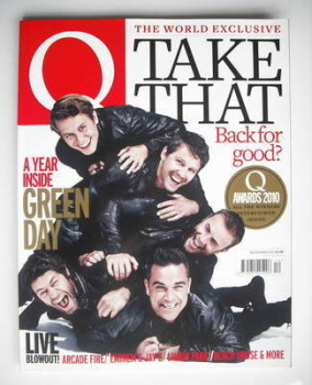 Q magazine - Take That cover (December 2010)
