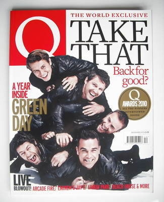 <!--2010-12-->Q magazine - Take That cover (December 2010)