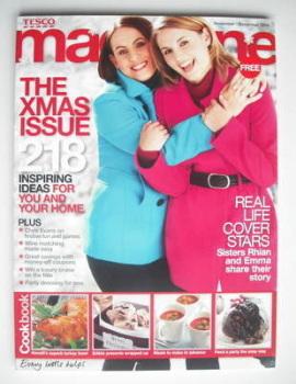 Tesco magazine (November/December 2009)