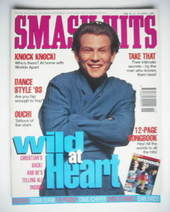 <!--1993-04-14-->Smash Hits magazine - Christian Slater cover (14-27 April