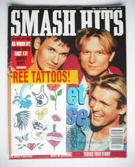 <!--1993-04-28-->Smash Hits magazine - Let Loose cover (28 April - 11 May 1