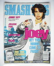 <!--1993-07-21-->Smash Hits magazine - Joey Lawrence cover (21 July - 3 Aug