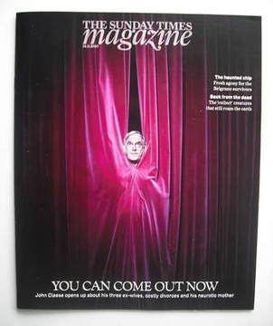 <!--2010-11-14-->The Sunday Times magazine - John Cleese cover (14 November
