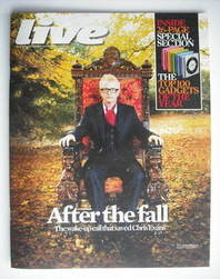 <!--2010-11-14-->Live magazine - Chris Evans cover (14 November 2010)