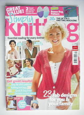 Simply Knitting magazine (Issue 71 - September 2010)