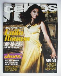 <!--2010-09-26-->Celebs magazine - Laila Rouass cover (26 September 2010)