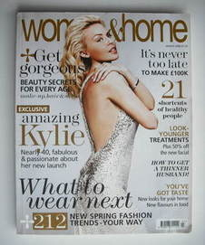 Woman & Home magazine - March 2008 (Kylie Minogue cover)