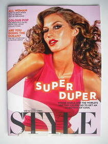<!--2010-11-07-->Style magazine - Gisele Bundchen cover (7 November 2010)