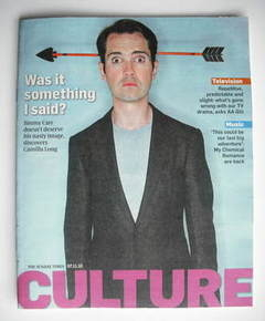 <!--2010-11-07-->Culture magazine - Jimmy Carr cover (7 November 2010)