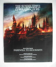 <!--2010-11-07-->The Sunday Times magazine - Farewell To Hogwarts cover (7