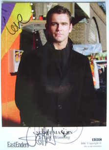 Scott Maslen autograph (EastEnders actor)