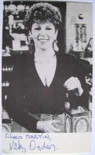 Vicky Ogden autograph