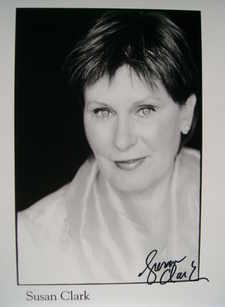 Susan Clark autograph
