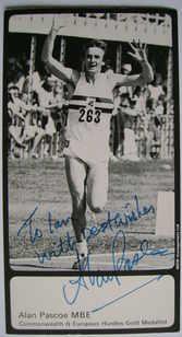 Alan Pascoe autograph