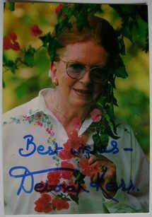 Deborah Kerr autograph (hand-signed photograph)