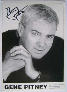 Gene Pitney autograph (hand-signed photograph)