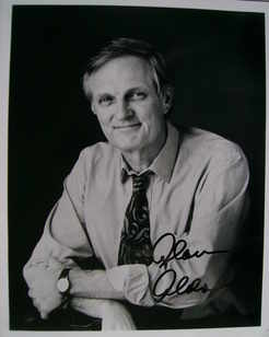 Alan Alda autograph (hand-signed photograph)