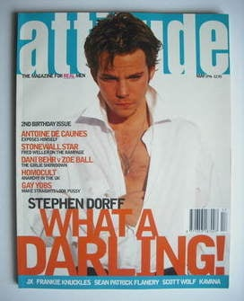 Attitude magazine - Stephen Dorff cover (May 1996)
