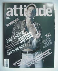 <!--2006-08-->Attitude magazine - Jake Shears cover (August 2006)
