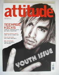 <!--2005-02-->Attitude magazine - Charlie Simpson cover (February 2005)
