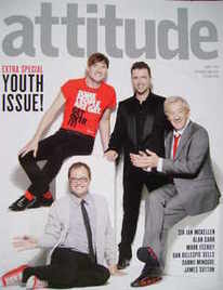 <!--2008-09-->Attitude magazine - Dan Gillespie Sells, Mark Feehily, Sir Ia
