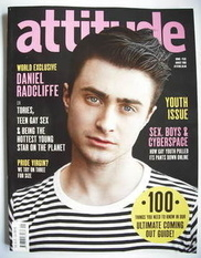 <!--2009-08-->Attitude magazine - Daniel Radcliffe cover (August 2009)