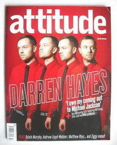 <!--2007-08-->Attitude magazine - Darren Hayes cover (August/September 2007