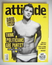 <!--2010-03-->Attitude magazine - David Frampton cover (March 2010)