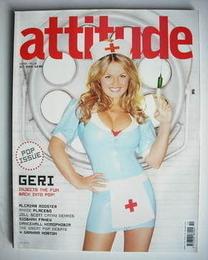 <!--2004-10-->Attitude magazine - Geri Halliwell cover (October 2004)