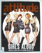 <!--2008-11-->Attitude magazine - Girls Aloud cover (November 2008)