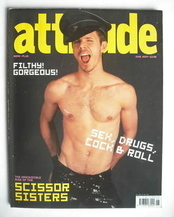 <!--2004-06-->Attitude magazine - Jake Shears cover (June 2004)