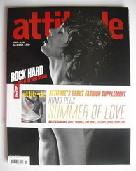 <!--2005-07-->Attitude magazine - Johnny Borrell cover (July 2005)