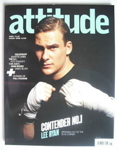 <!--2005-08-->Attitude magazine - Lee Ryan cover (August 2005)