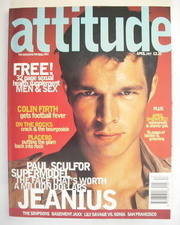 <!--1997-04-->Attitude magazine - Paul Sculfor cover (April 1997)