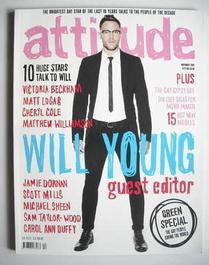 <!--2009-11-->Attitude magazine - Will Young cover (November 2009)