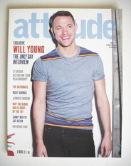 <!--2008-10-->Attitude magazine - Will Young cover (October 2008)