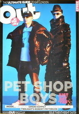 Out magazine - Pet Shop Boys cover (April 2009)