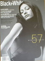 <!--2001-11-->Black and White magazine - November 2001 - No 57 - Design Issue - Alyssa Sutherland cover