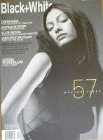 <!--2001-11-->Black and White magazine - November 2001 - No 57 - Design Issue - Alyssa Sutherland cover