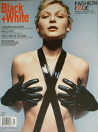 <!--2001-04-->Black and White magazine - Spring/Summer 2001 Fashion Issue No 55 - Leeanna Walsman cover