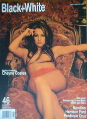 <!--2000-10-->Black and White magazine - October 2000 - No 46 - Cheyne Coates cover