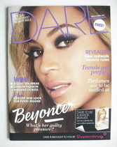 Dare magazine - Beyonce Knowles cover (September/October 2010)